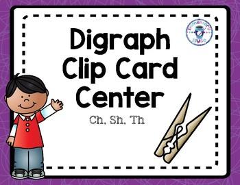 Digraph Clip Card Center