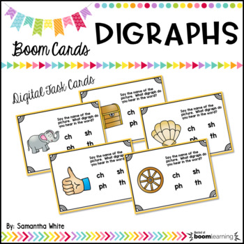 Digraph BOOM Cards {Digital Task Cards}