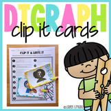 Digraph Clip It Cards Ch Sh Th Wh