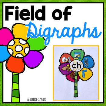 Digraph Sorting Activity (Ch, Sh, Th, Wh) Flower Themed