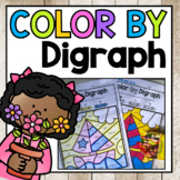 Spring No Prep Ch Sh Th Wh Digraph Color By Code Worksheets
