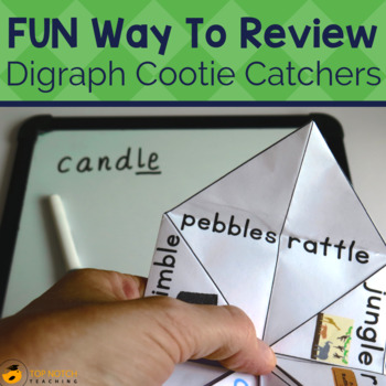 Digraph Cootie Catchers