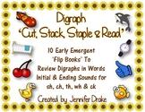 Digraph 'Cut, Stack, Staple & Read' Books!  ~10 Books~ CC Aligned!