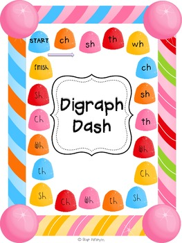Digraph Dash: A Digraph Game (Freebie!)