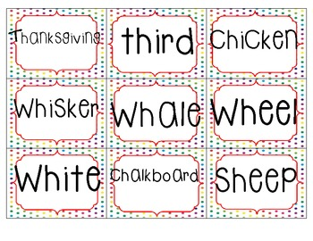 Digraph Dash {Literacy Center}
