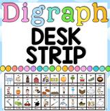 Digraphs Desk Strip