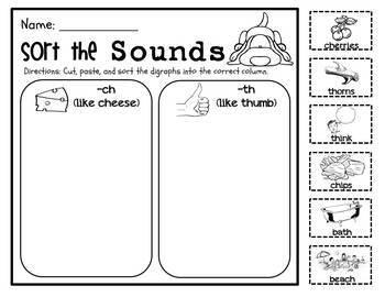 Digraph Detective Literacy Packet. Fun Phonics! Kindergarten