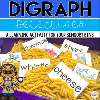 Digraph Center - Sensory bin activity