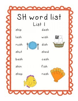 Digraph Pack for Decoding and Fluency (sh, ch, th, ck, wh)