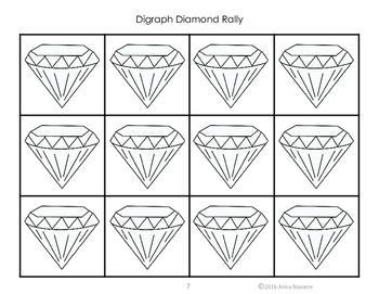 Digraph Diamond Rally
