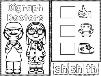 Digraph Doctors {Interactive Readers}