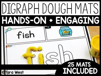Digraph Dough Mats