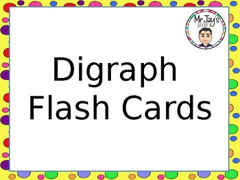 Digraph Flash Cards Powerpoint