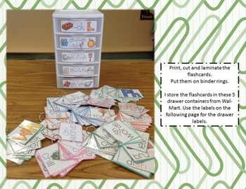 Digraph Flashcards with Pictures