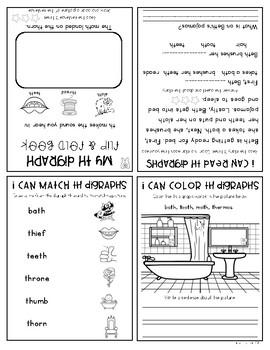 Digraph Flip Books