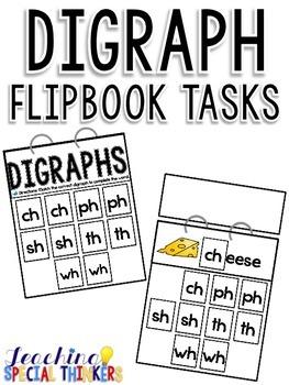 Digraph Flipbook Tasks