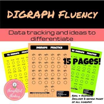 Digraph Fluency Pages