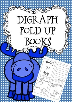 Digraph Fold Up Books