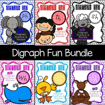 Digraph Fun Bundle- SH TH WH PH CH