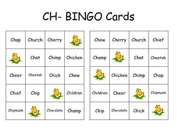 "Digraph Fun ""CH"""