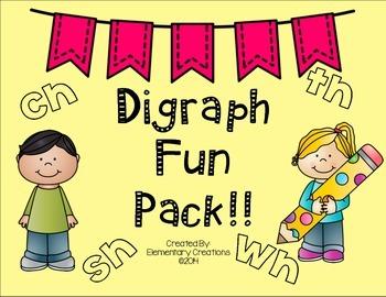 Digraph Fun Pack!
