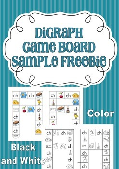 Digraph Game Board { freebie }