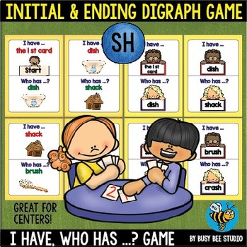Digraph Game: I have, who has (SH)