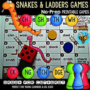 Digraph Game: Snakes and Ladders