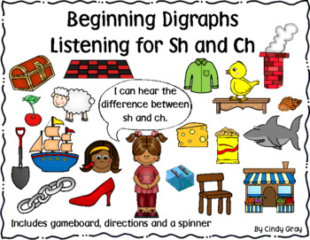 Digraph Gameboard ~ Ch and Sh