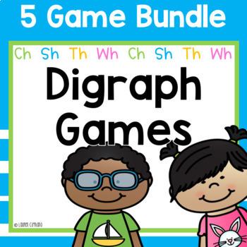 Digraph Games Bundle Ch Sh Th Wh