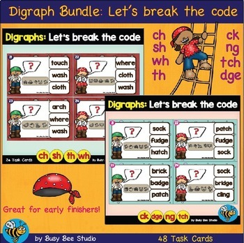 Digraph Games Bundle: Let's Break the Code