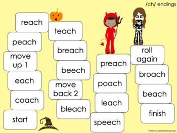 Long Vowel Digraph Games with Beginning and Ending Digraphs