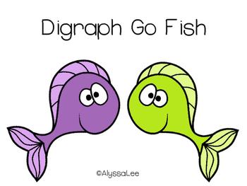 Digraph Go Fish- Orton Gillingham