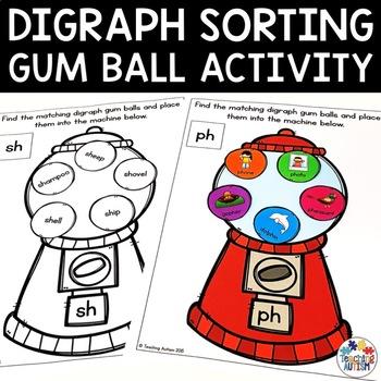 Digraph Gum Ball Sorting