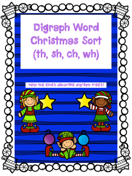 Digraph Holiday Sort (sh, th, ch, wh)