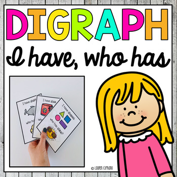 17 Digraph I have who has game activities Ch Sh Th Wh