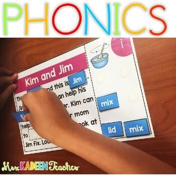 Digraph Interactive Phonics Mats