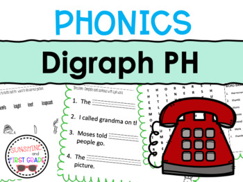 Digraph Introduction Pack PH