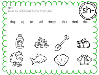 Digraph Introduction Pack SH