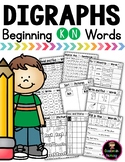 Digraph KN Practice and Worksheets