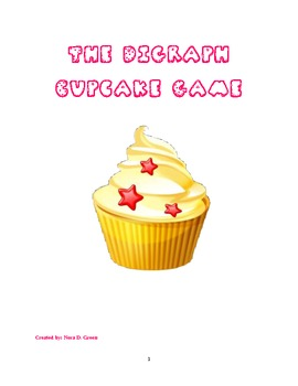 Digraph Learning Game, Cup Cake Style!