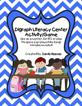 Digraph Literacy Center sh, wh, ch, tch, th