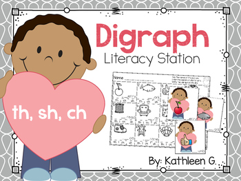 Digraph Literacy Station