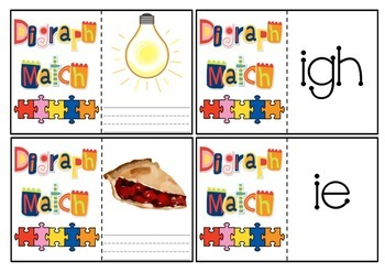 Digraph Word and Picture Match
