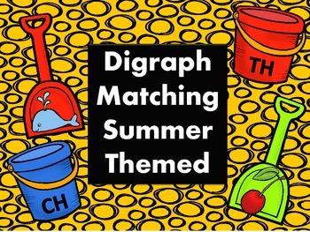 Digraph Matching Summer Themed