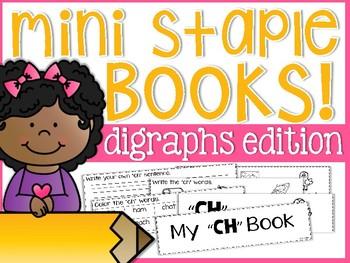Digraph Mini Staple Books