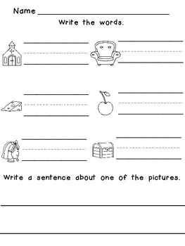 Digraph Mini-Unit for Kindergarten or First Grade (ch,th,sh,and wh)