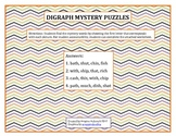 Digraph Mystery Puzzles