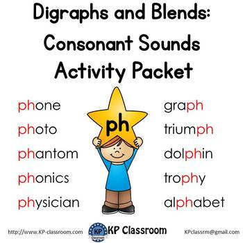 Digraph ph consonant sound activity packet and worksheets by kp digraph ph consonant sound activity packet and worksheets ibookread Read Online