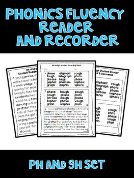Digraph PH GH - Phonics Fluency Assessment